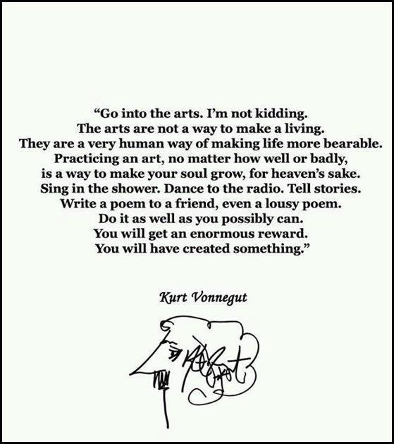 Career advice from Vonnegut