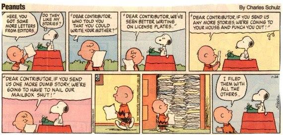 Peanuts on Editors