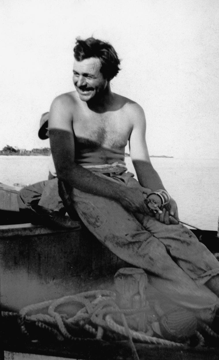 Ernest_Hemingway_Fishing