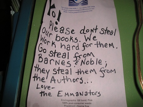 Don't Steal Our Books
